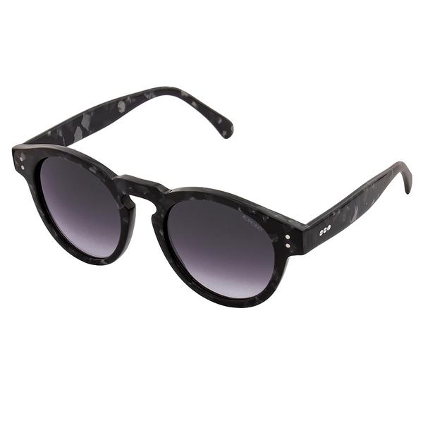 KOMONO CRAFTED工藝款手工太陽眼鏡 Clement-黑色大理石