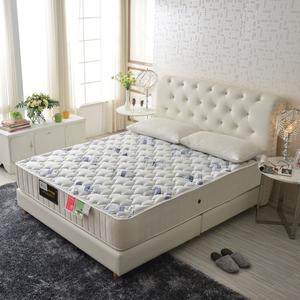 【睡芝寶】皇冠涼感天絲棉-抗菌蜂巢獨立筒床墊雙人5尺
