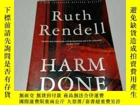 二手書博民逛書店Ruth罕見rendell HARM DONE(英文)Y2003