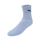 Puma 襪子 Classic Sock 男女款 藍 單雙入 台灣製 中筒襪 彪馬【ACS】 BB1345-04