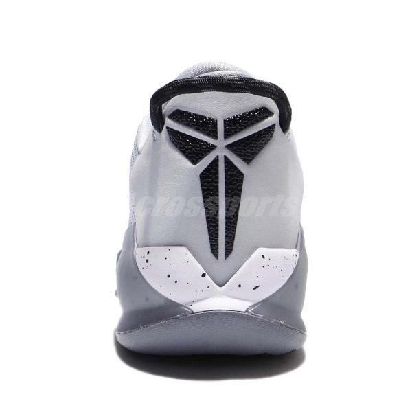 Nike 籃球鞋 Zoom Kobe Venomenon 灰 黑 毒液 低筒 球鞋推薦 男鞋 【PUMP306】 897657-002
