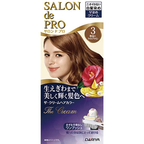 Dariya沙龍級白髮染髮霜3淺棕【康是美】