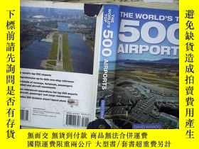 二手書博民逛書店THE罕見WORLD S TOP 500 AIRPORTS(03