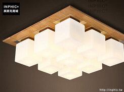 INPHIC- 日式貝殼方塊雲朵吸頂燈現代簡約兒童房客廳北歐創意臥室燈-I款_S197C