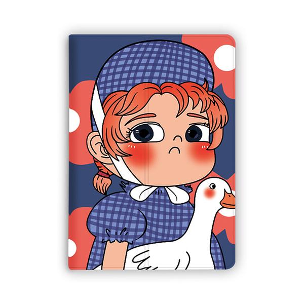 Tab A10.1小女孩平板電腦皮套 三星2019 A8.0平板保護套 Galaxy Tab S6 Lite保護殼 SamSung Tab S6翻蓋保護套