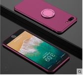蘋果 iPhone6/6S plus 5.5吋 MCWL全包鑲鑽磨砂軟殼