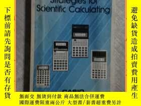 二手書博民逛書店英文書罕見Strategies for Scientific Calculating 科學計算策略Y16354
