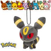 月亮伊布 月亮精靈 娃娃吊飾 玩偶 Q版 Pokemon 寶可夢 神奇寶貝 日本正品 該該貝比日本精品 ☆