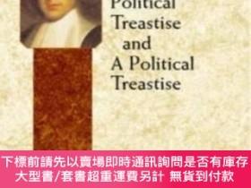 二手書博民逛書店A罕見Theologico-political Treatise And A Political Treatise