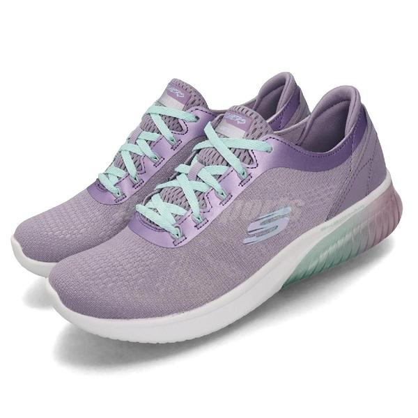 Skechers 慢跑鞋 Skech-Air Ultra Flex-Fantastic Life 紫 白 女鞋 【PUMP306】 13293LAV