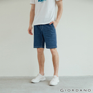 【GIORDANO】男裝純棉牛仔短褲 -...