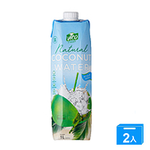 VICO天然椰子水1000ML【兩入組】【愛買】