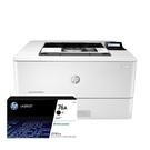 【搭CF276A原廠碳粉匣2支】HP LaserJet Pro M404dn 黑白雙面雷射印表機