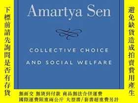 二手書博民逛書店Collective罕見Choice And Social WelfareY364682 Amartya Se