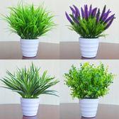 仿真植物花假植物假花室內外裝飾塑料盆栽綠蘿小盆栽仿真花草植物  igo 卡布奇諾