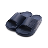 DIADORA 魔鬼氈氣墊運動拖鞋 藍 DA71220 男鞋