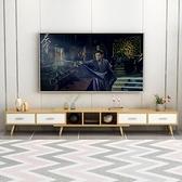 電視櫃 現代電視柜茶幾客廳組合伸縮電視機柜大小戶型地柜家用簡【快速出貨八折搶購】