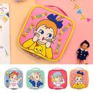 收納包-棒棒糖女孩方塊化妝包/手提包/手拿包-共4色-B300096-FuFu