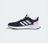 Adidas RUNFALCON 女款黑粉運動慢跑鞋-NO.EF0152