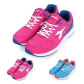 DIADORA 女慢跑鞋 (訓練 健身 路跑 反光≡體院≡