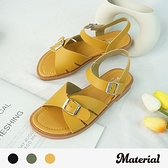涼鞋 時尚休閒平底涼鞋 MA女鞋 T78933