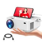 DBPOWER【日本代購】 迷你投影機1500lm 蘋果/ 安卓手機連接HDMI 線1080P