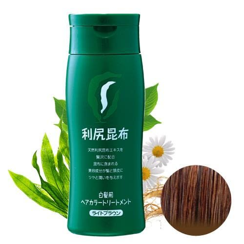 Sastty 利尻昆布染髮劑-褐色 日本第一台灣代理 染髮過敏的救星