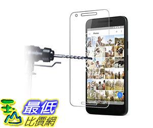 [105美國直購] 螢幕保護膜 Nexus 5X Premium Tempered Glass Screen Protector HD 99% Clarity 2.5D 0.26mm 9H B01826LIFY