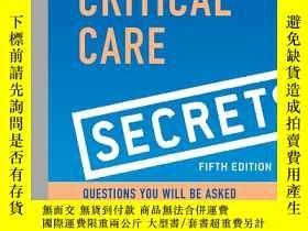 二手書博民逛書店Critical罕見Care Secrets, 5eY19139