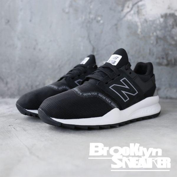 NEW BALANCE NB 247 Gore Tex 黑 白 防水 休閒 情侶鞋 男女 (布魯克林) 2018/12月 MS247GTX