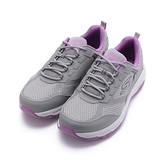 SKECHERS 慢跑系列 GO RUN TRAIL ALTITUDE 寬楦綁帶運動鞋 灰紫 128200WGYPR 女鞋