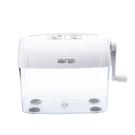 碎紙機 碎紙機私密信息保護便攜商用手搖桌面靜音粉碎機3.5mm快速出貨