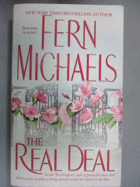 【書寶二手書T8/原文小說_IHM】The Real Deal_Michaels, Fern
