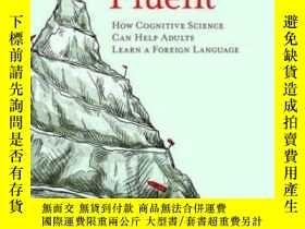二手書博民逛書店Becoming罕見Fluent: How Cognitive