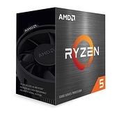 AMD Ryzen 5 5600X R5-5600X 6核12緒處理器 100-100000065BOX
