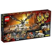 【南紡購物中心】【LEGO 樂高積木】Ninjago 忍者系列 - 骷顱頭巫師之龍(3)71721