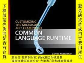 二手書博民逛書店Customizing罕見The Microsoft .net Framework Common Language