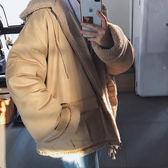男生外套加厚 男士外套厚款 百搭棉襖羽絨上衣 冬天冬季男裝男款保暖冬裝棉服 型男夾克加絨