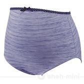 【ohoh-mini孕婦裝】絕世好咖‧咖啡紗孕婦高腰內褲(藍)
