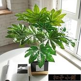 北歐創意仿真綠植室內小盆栽龜背植物客廳桌面擺件辦公室11-15【雙十一狂歡】