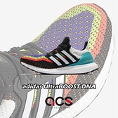 adidas 慢跑鞋 UltraBOOST DNA 黑 彩色 女鞋 編織鞋面 Boost 運動鞋 【ACS】 FW8709