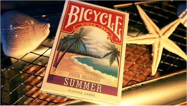 【USPCC 撲克】BICYCLE FOUR SEASON SUMMER Playing Cards LTD 四季 夏