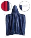 童裝 現貨 素色防風防雨披被/披風,可夾在背帶外用-深藍色【A0059】