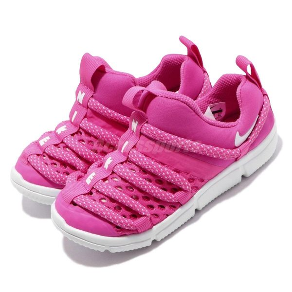 Nike 毛毛蟲鞋 Novice BR TD 粉紅 白 童鞋 小童鞋 運動鞋【PUMP306】 BQ6721-600
