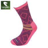 Lorpen T2 女美麗諾羊毛襪L2W(I) / 城市綠洲(保暖、舒適、健行、羊毛襪、西班牙)