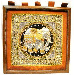 印度家居大象掛毯