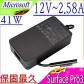 Microsoft 12V,2.58A,41W, 36W, 1625 充電器(保固最久)-微軟 SurFace Pro 3,USB 5V,1A,5W 1625 平板變壓器