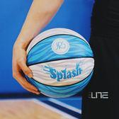 JRs原創 水花兄弟系列籃球 防滑耐磨虎撲JRs比賽學生室外訓練籃球