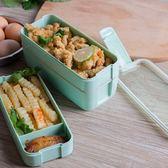 日式三層帶蓋飯盒可微波爐加熱餐盒學生多層分格兒童便當盒水果盒 js2268『科炫3C』