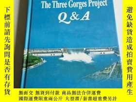 二手書博民逛書店THE罕見THREE Gorges project(英文)Y20